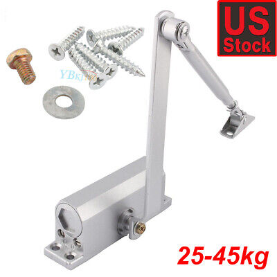 25-45KG Heavy Duty Commercial Door Closer Two Independent Valves Control Sweep