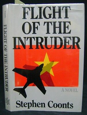Flight of the Intruder by Stephen Coonts; Signed 1st first Edition HC/DJ
