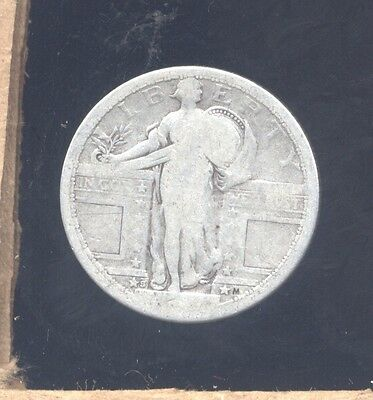 1917S type 1 Standing Liberty silver Quarter