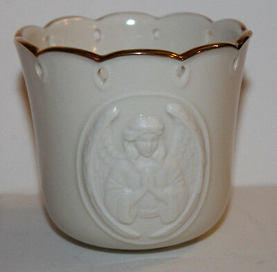 Lenox Christmas Angelic Visions Praying Angel Votive