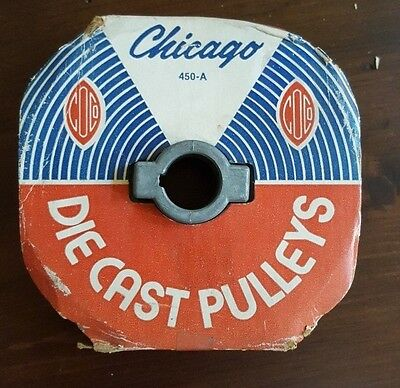 """Chicago Die Cast Pulley 4-1/2"""" x 3/4"""" 450-A"""