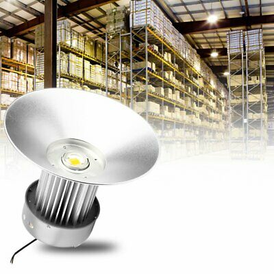 LED High Bay Warehouse Light Super Bright Fixture Factory 100W-250W Equivalent