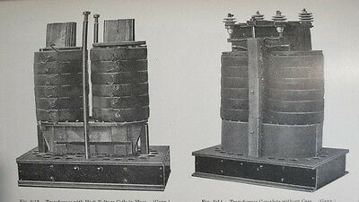 1911 Antique Electrical Engineering Book; A Treatise on Transformers