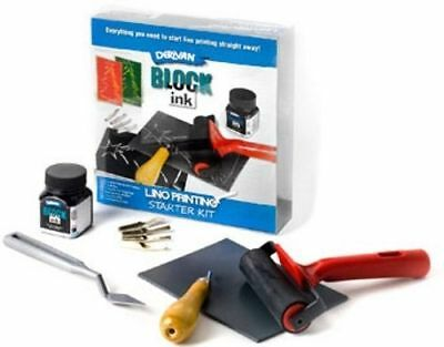 Derivan Lino Cutting Block Printing Starter Kit