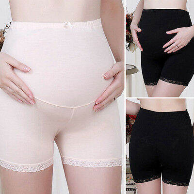 Pregnant Women Panties Belly Support Shorts Lace Underpants Maternity Underwear