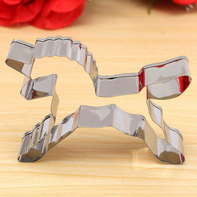 Unicorn Horse Cookies Cutter Mold Cake Decorating Biscuit Pastry Baking Tool