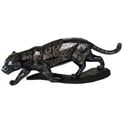 K-SW2254 NIB Swarovski Crystal Figurine Black Jaguar Limited Edition #5048145