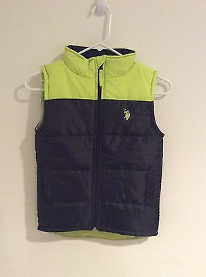 US Polo Vest For Young Boys