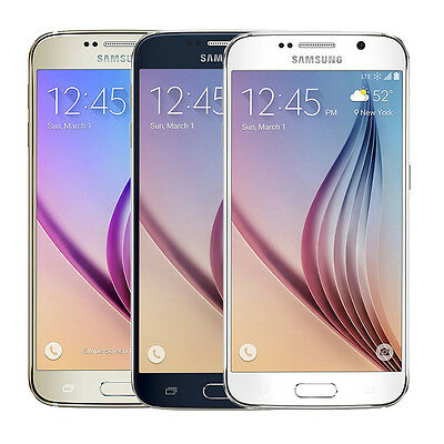 Samsung Galaxy S6 SM-G920 Factory Unlocked 32GB Android Smartphone Brand New