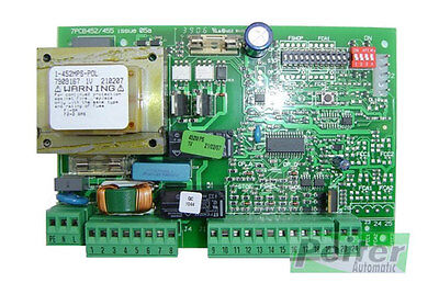 Faac 452 MPS control board for one or two swinging gate operators - 7909167