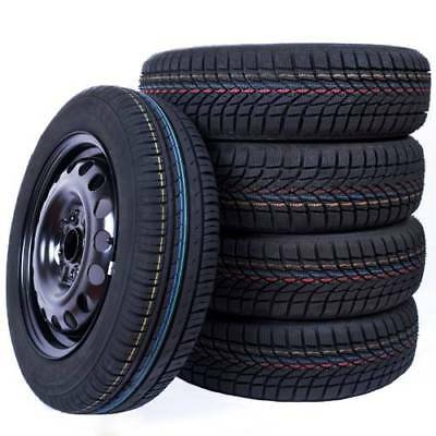 4x Inverno Ruote complete VW GOLF VI (5K1) 195/65 R15 91T Nokian WR D4