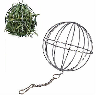 For Guinea Pig Hamster Rabbit Hanging Ball Toy Treat Ball Feed Dispenser A