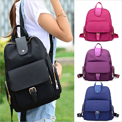 Women Girl  Oxford Travel Backpack Handbag Satchel Rucksack Shoulder School Bag