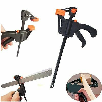 4 Inch Squeeze Wood Release Speed Spreader Woodworking Bar Clamp Quick Ratchet