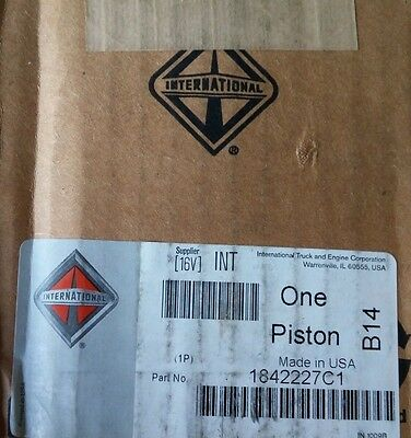 New OEM INTERNATIONAL PISTON 1842227C1 DT466E