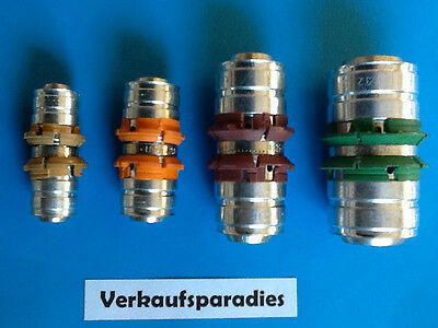 Uponor,Unicor,Unipipe,Metall Pressfitting Kupplung , 16 - 32 mm
