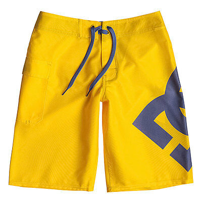 Costume DC Shoes Boardshort Lanai BY Yellow - Ragazzo