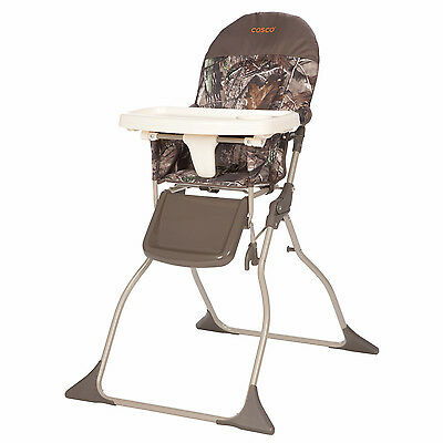 Cosco On-the-Go Simple Fold High Chair, Realtree