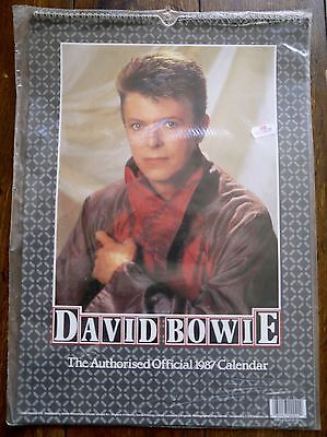 David Bowie - Official Authorised US Calendar 1987 Still Sealed!
