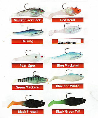 Tsunami Swim Shads _ Various Colours _ 4inch and 5 inch