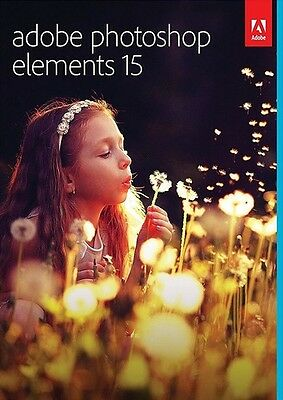 Adobe Photoshop Elements 15 - for PC and Mac - download- photo editing software