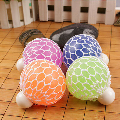 Squishy Mesh Ball Stress Relief Therapy Hand Fidget Sensory Autism ADHD