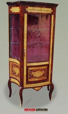 French Louis XV style display cabinet.