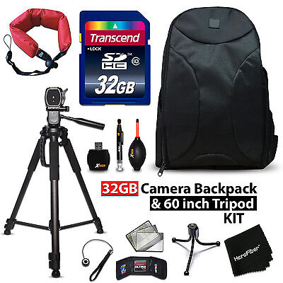 32GB + BACKPACK Kit for Canon EOS 1300D w/ 32GB Memory + BACPK + MORE