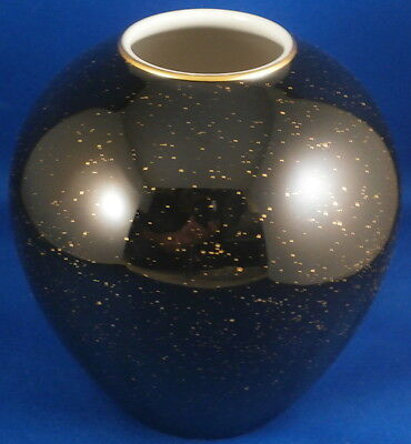 Superb KPM Berlin Porcelain Starry Night Trude Petri Vase Porzellan Eames Era