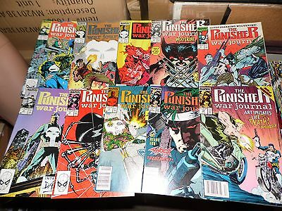 Punisher War Journal lot of 10 books #3 #4 #5 #6 #7 #8 #9 #10 #11 and #12