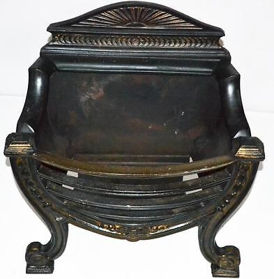 Victorian Cast Iron Fireplace Basket - FREE Shipping [PL3234]