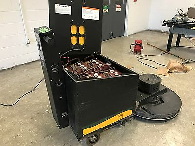 "Used NSS Charger 2717 DB Battery Burnisher 27"" Floor Buffer With Batteries"