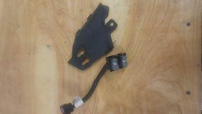Heated Grip switch And Plastic mount-2013 Skidoo Summit X