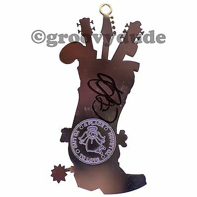 Hard Rock Cafe Tampa 2009 Signed Autograph Charlie Daniels Band Golf Ornament