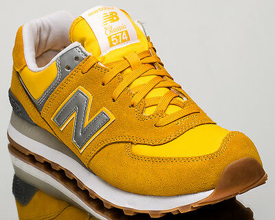 free shipping dab53 d0302 NEW BALANCE 574 NB NB574 men lifestyle casual sneakers NEW yellow ML574-HRK