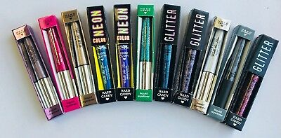 Lot of 10 Hard Candy WALK THE LINE Liquid Eyeliners  10 Shades!    Sealed!