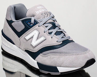 wholesale dealer e8e04 21112 NEW BALANCE 597 NB NB597 men lifestyle casual sneakers NEW grey ML597-GSC
