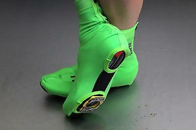 Rapha Green Pro Team Rain Overshoes. Size Small. BNWT.