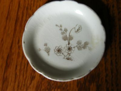 Antique Vintage Porcelain China Ceramic Butter Pat Merote
