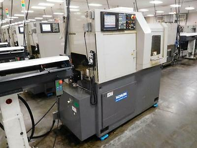 2009 Nomura NN16-SB6 Type 3, Swiss Type CNC Lathe Screw Machine