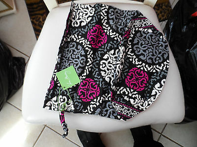 Vera Bradley ditty bag in Canterberry Magenta pattern NWT
