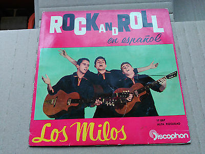 Ep Los Milos - Teddy Girl + 3 - Discophon Spain 1960 Vg+