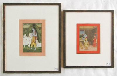 AJAY GARG, TWO GOUACHES ON PAPER (India, born 1967 Lot 478