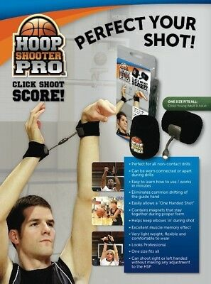 The HoopShooter Pro™ is a basketball shooting aid.