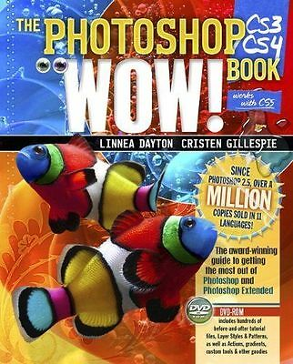 Photoshop CS3/CS4 Wow! Book, The (8th Edition)-ExLibrary