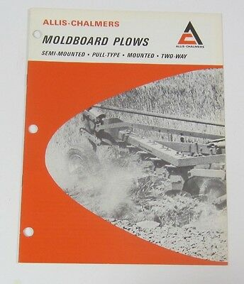 Allis Chalmers Moldboard Plows Brochure
