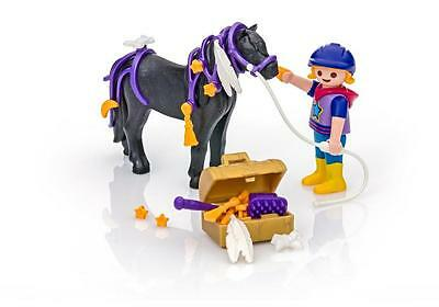 Groomer with Star Pony PLAYMOBIL Country