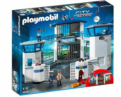 Police Headquarters With Prison PLAYMOBIL City Action