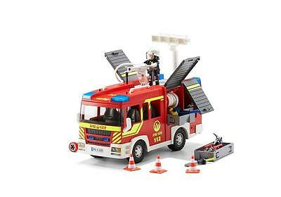 Fire Engine With Lights And Sound PLAYMOBIL City Action
