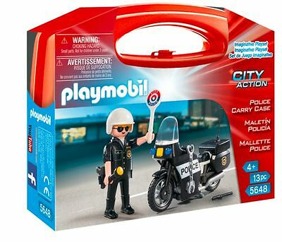 Police Carry Case PLAYMOBIL City Action